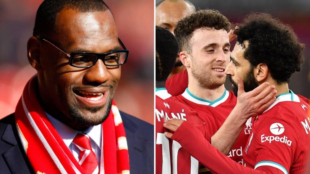 LeBron James har köpt in sig i ägargruppen i Liverpool.