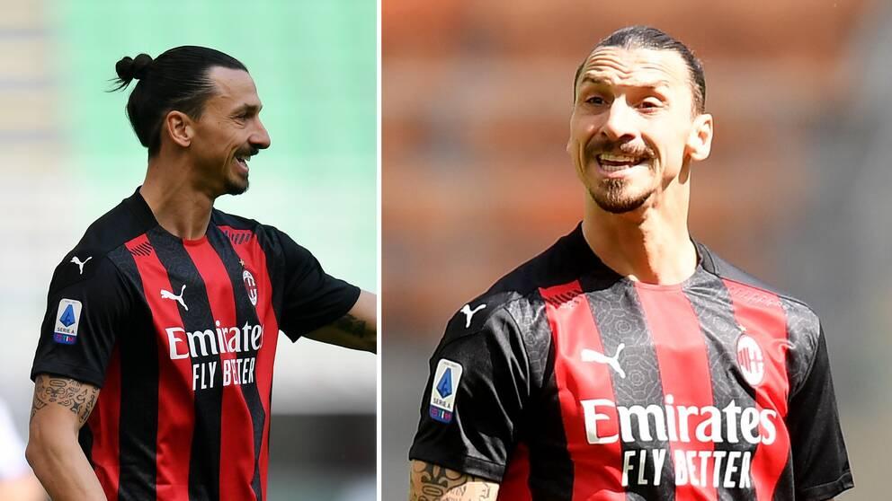 Zlatan i matchen mot Sampdoria.