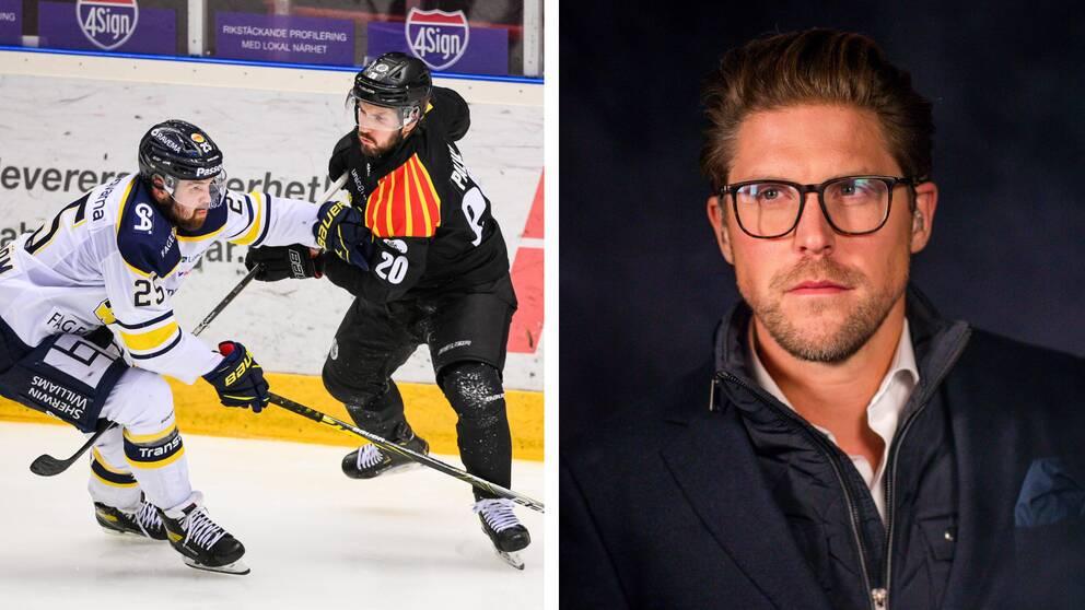Jonas Andersson, till höger.