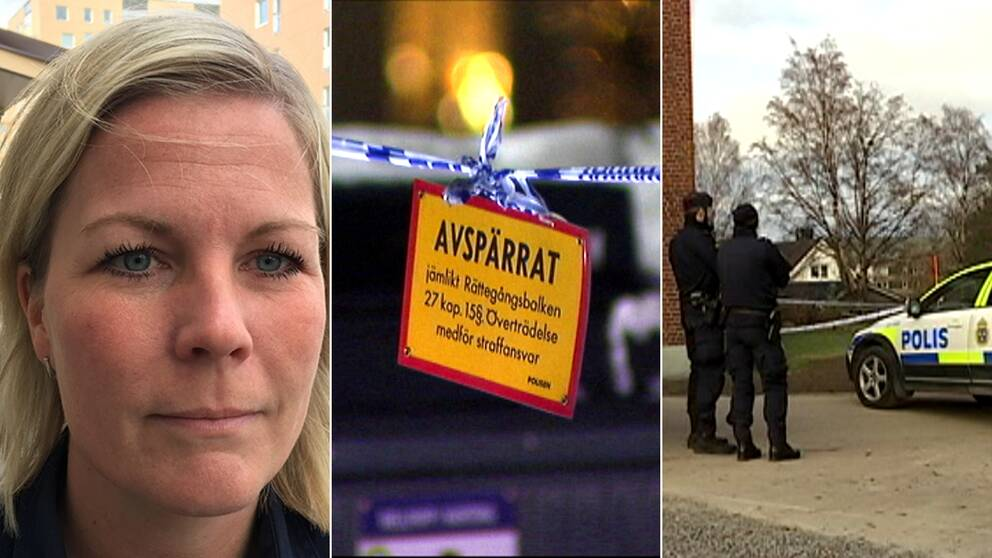 Josefine Perming Tengqvist, chef för utredningssektionen vid polisen i Västernorrland.
