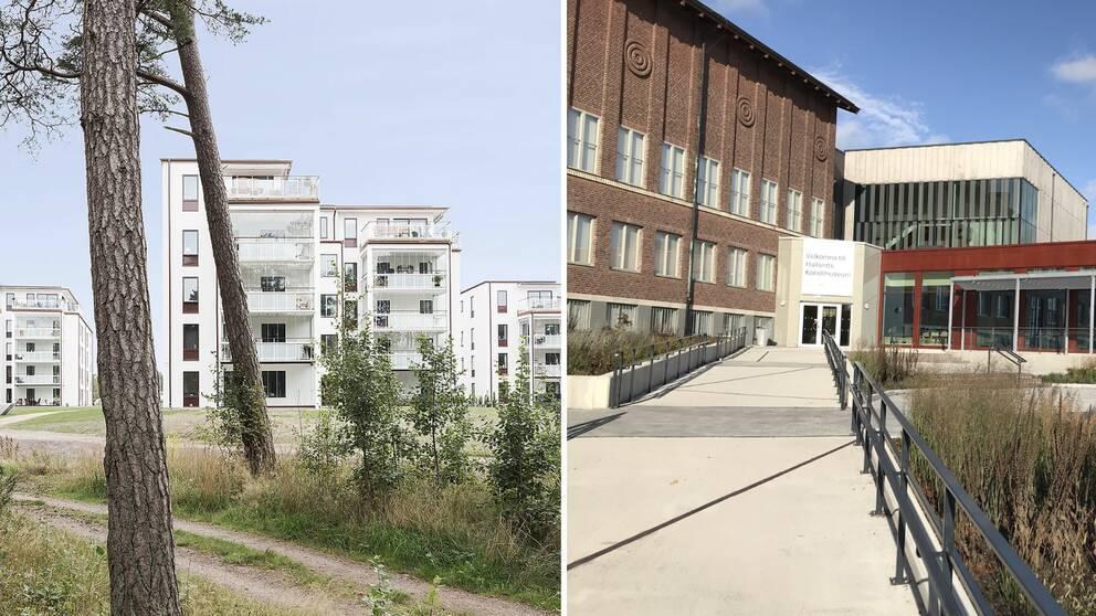 De andra två objekten som var nominerade till Halmstads arkitekturpris 2020 var Hallands konstmuseum som genomgått en omfattande renovering, och byggnaderna i Kronolunds gård som gjorts av Fredblad arkitekter.