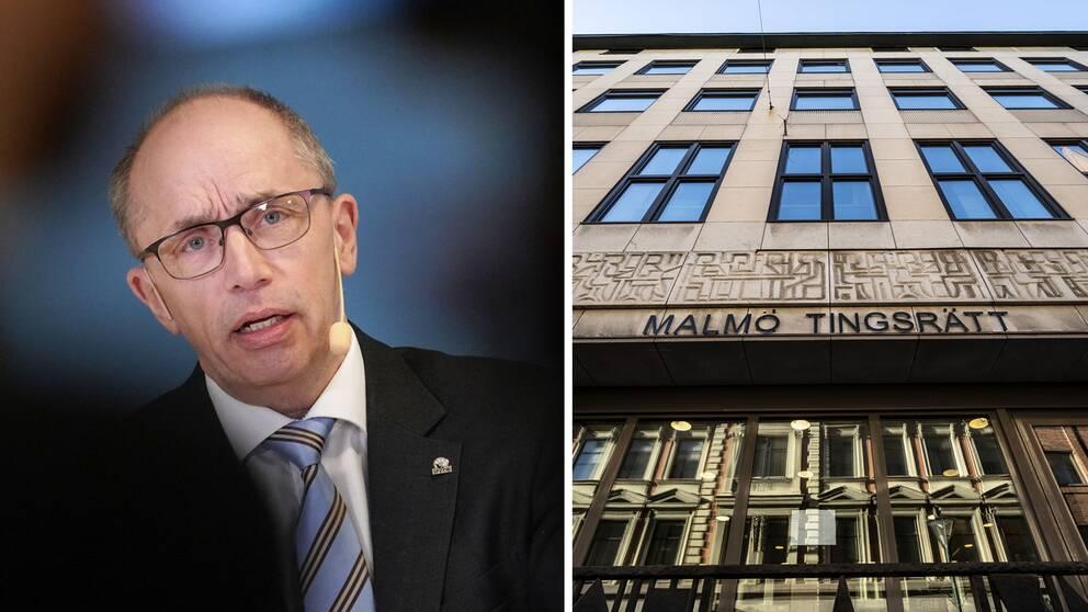 Alf Jönsson, regionråd och Malmö tingsrätt.
