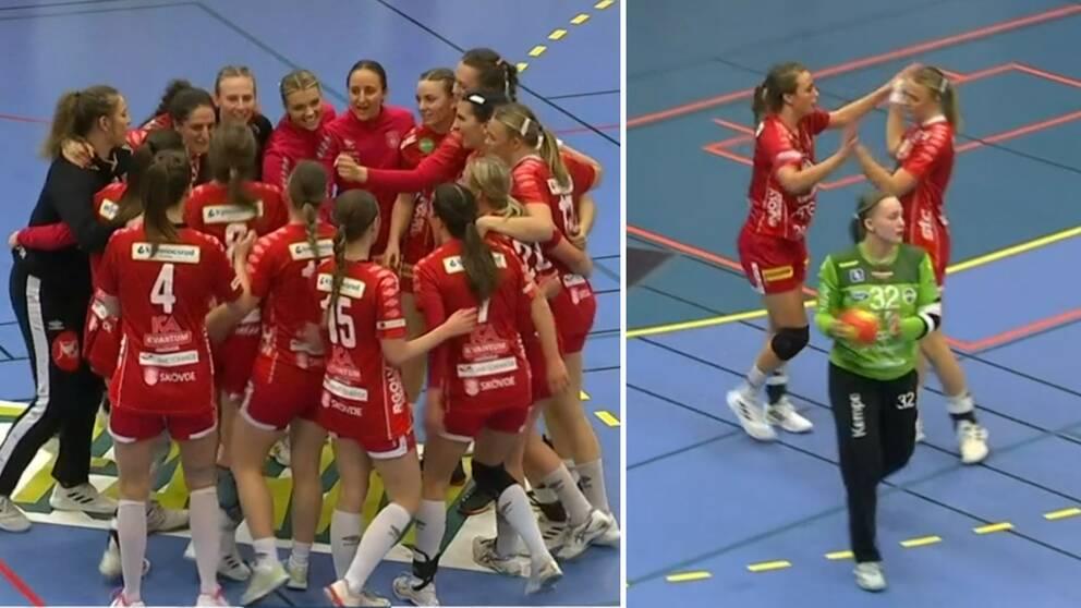 Skövde har matchboll mot Aranäs i SHE-kvalet.