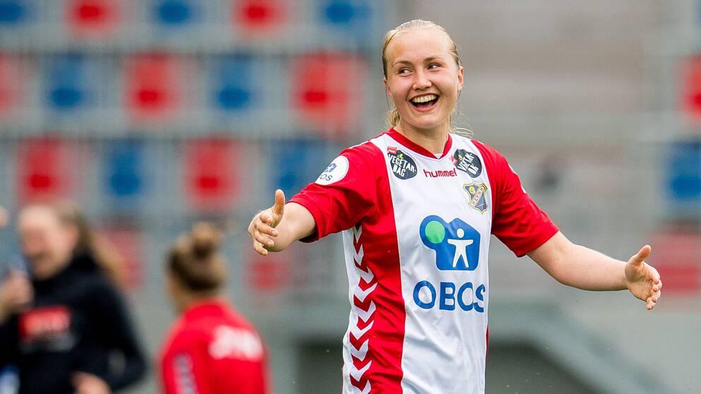 Noor Eckhoff är klar för Eskilstuna United.