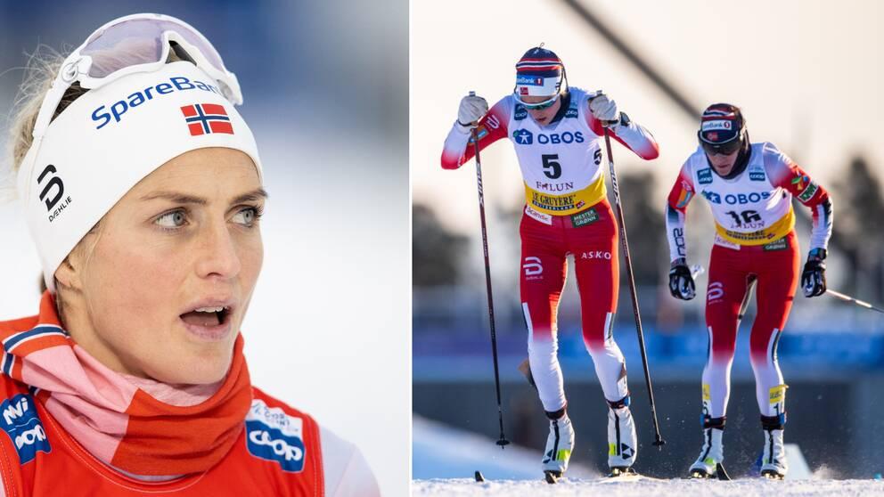 Therese Johaug kan tvingas göra om sina OS-förberedelser.