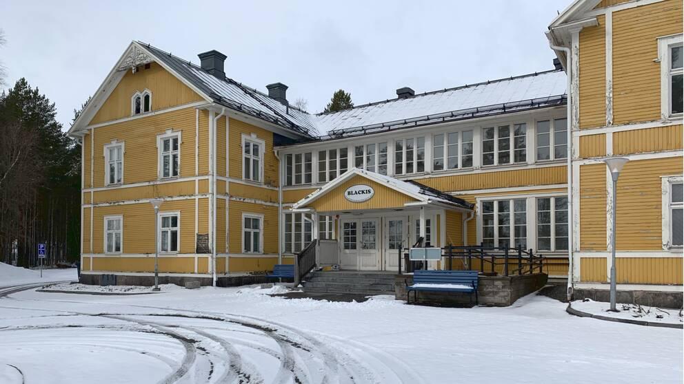 Exteriör Svartöstans Folkets Hus, Svartöstaden Luleå
