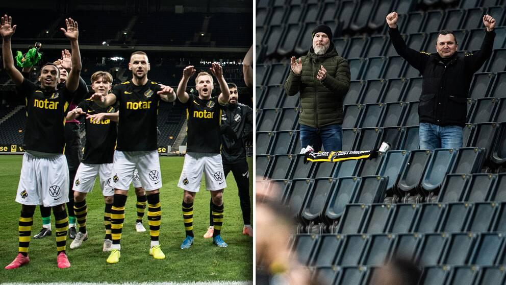 AIK vann den allsvenska premiären – inför åtta åskådare på Friends Arena som i normala fall tar 50 000 åskådare.