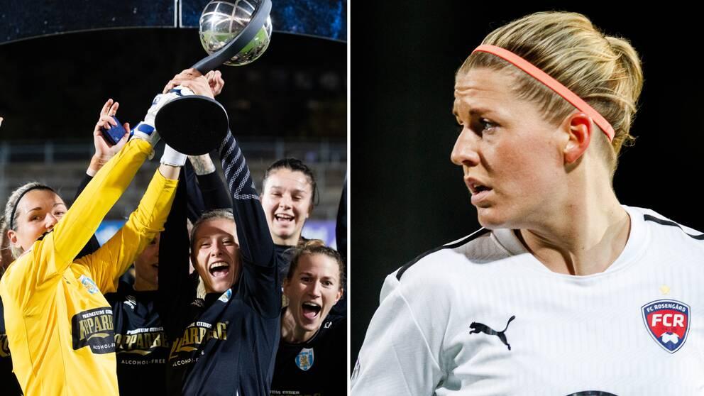 Olivia Scough och Rosengård satsar på SM-guld