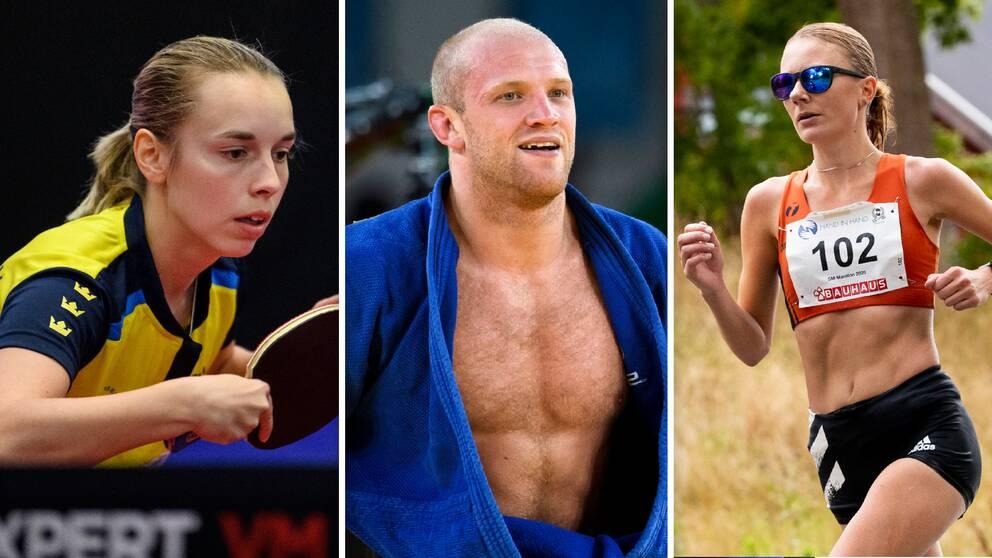 Linda Bergström, Marcus Nyman och Carolina Wikström har fått OS-biljetter.