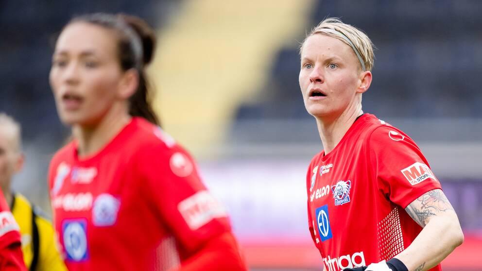 Nilla Fischers Linköping befinner sig i ett tufft ekonomiskt läge.