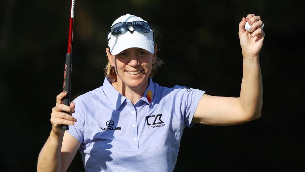 Annika Sörenstam gjorde tidigare i år comeback på LPGA-touren.
