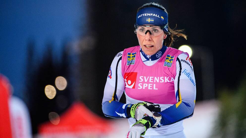 Charlotte Kalla har beslutat sig för att fortsätta satsa mot OS i Peking 2022.