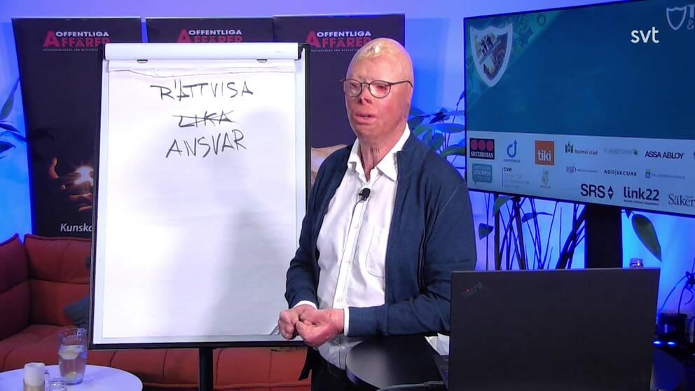 Föreläsare Lasse Gustavson