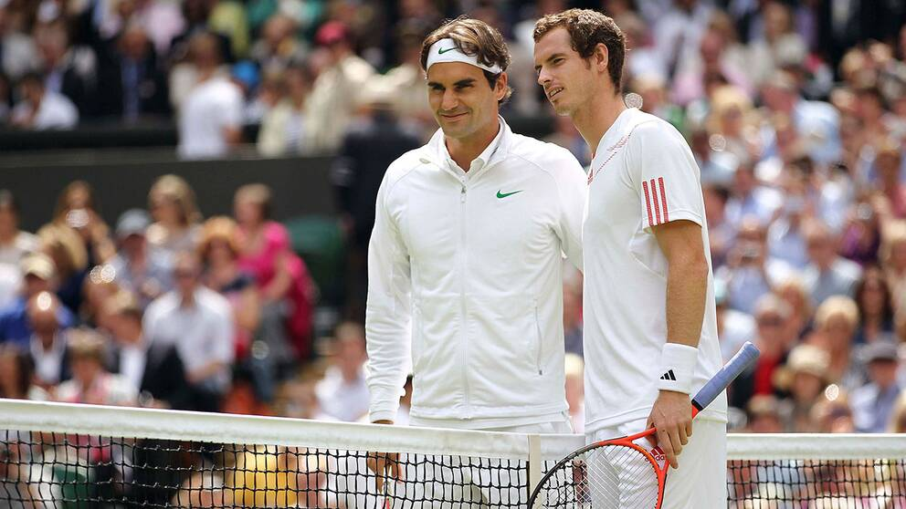 Federer enkelt till semifinal