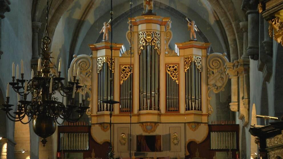 1960-talets orgel i Varnhems klosterkyrka