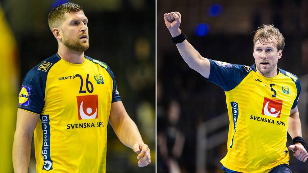 Linus Persson och Max Darj.