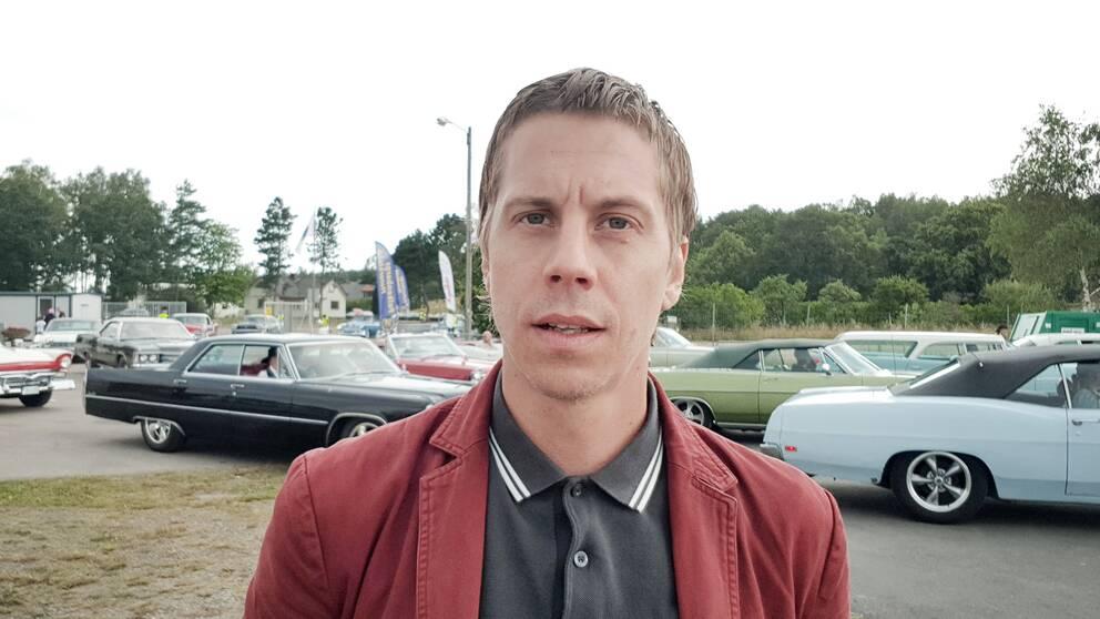 Marcus Alakangas, reporter på SVT Nyheter Halland som genomfört kartläggningen av rattfylleriet.