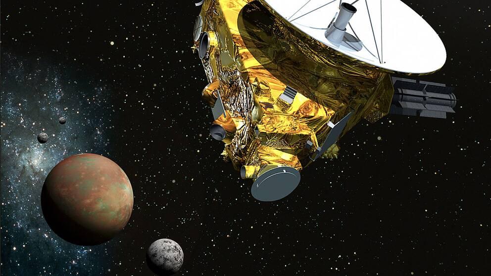 Rymdsonden närmar sig Pluto