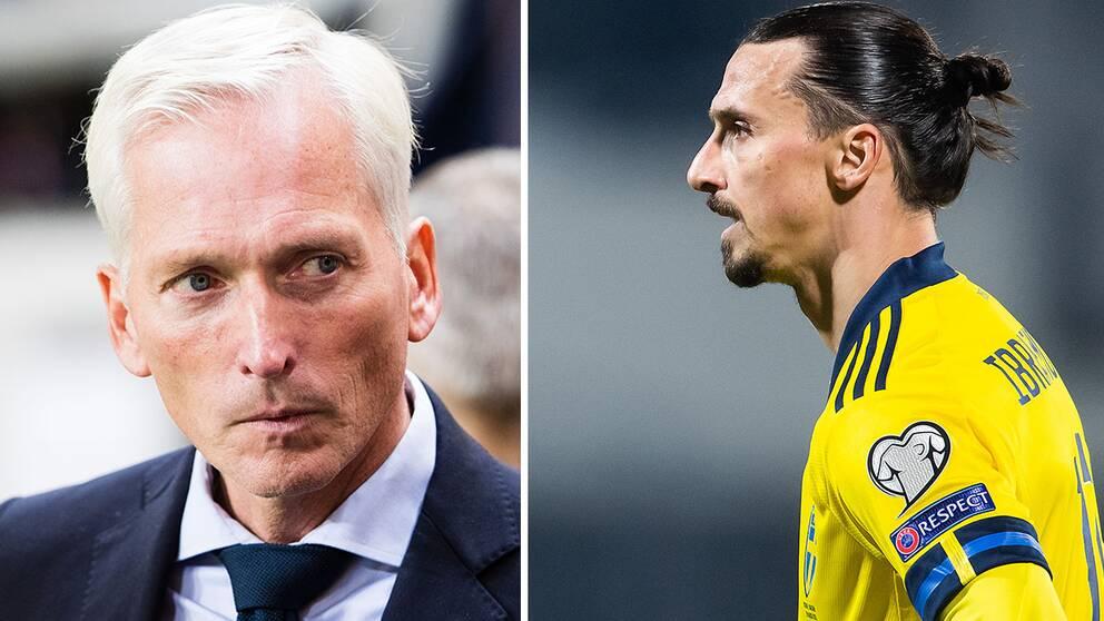 Håkan Sjöstrand och Zlatna Ibrahimovic
