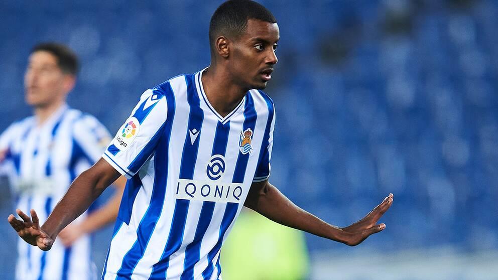 Alexander Isak slog till i La Liga