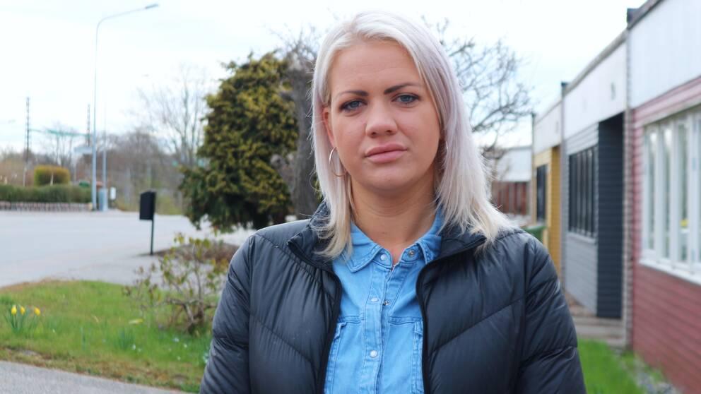 Elina Gustafsson (S) ordförande i Kultur- och fritidsnämnden i Karlskrona kommun.