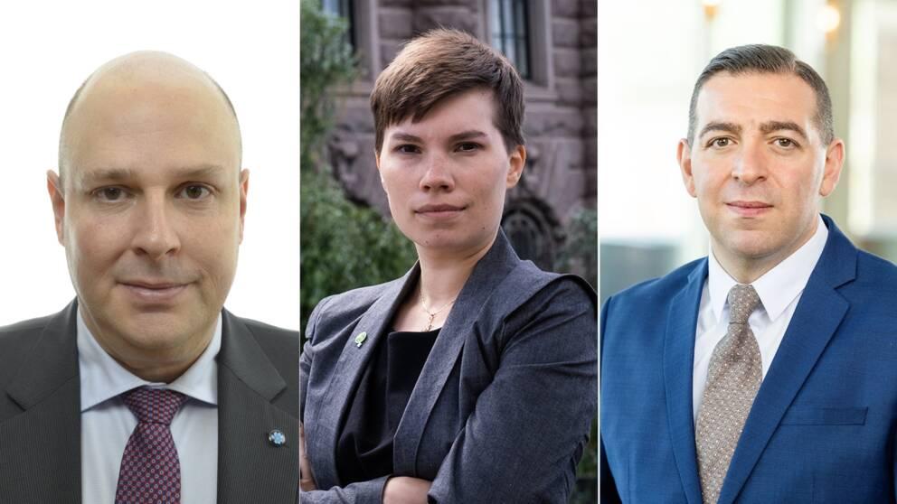 Tre politiker