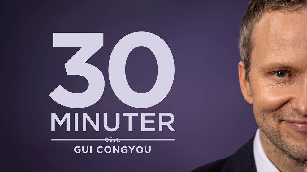 Anders Holmberg intervjuar Kinas ambassadör i Sverige Gui Congyou.