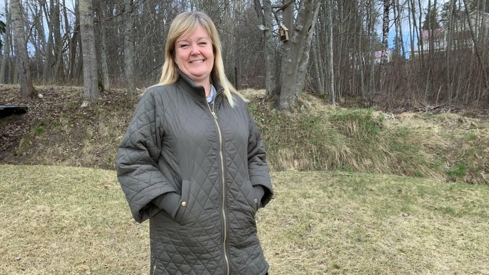Mikaela Odemyr, andre vice ordförande i Astma- och allergiförbundet