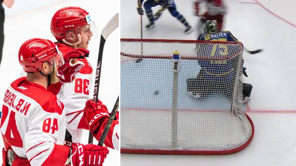 Danmark slog Sverige i Malmö.