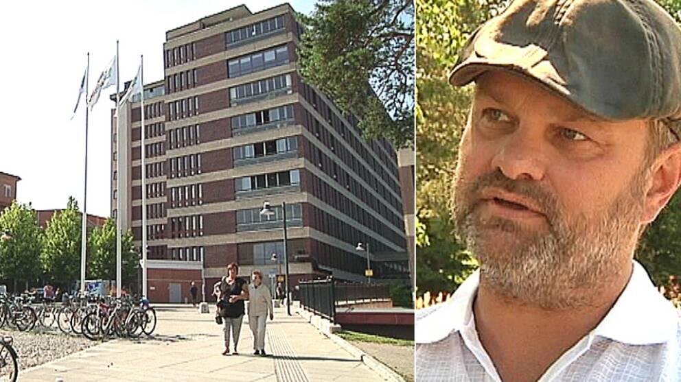 """Falsk neurolog fick sparken – efter två månader: """"Vi ska givetvis jobba med frågan och ta det på allvar"""", säger Roger O Nilsson, divisionschef, Region Gävleborg."""