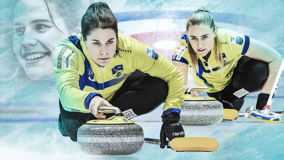 Lag Hasselborgs medaljjakt i curling-VM är en av veckans höjdpunkter i SVT:s sändningsutbud.