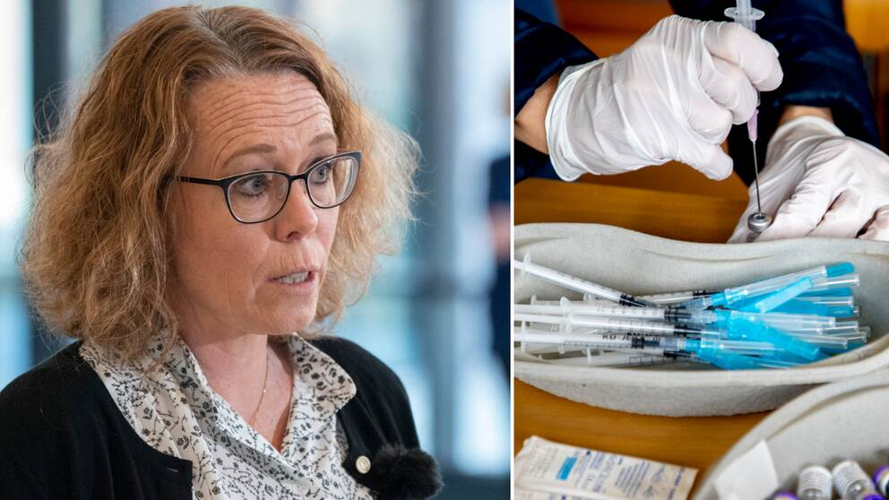 Region Skånes vaccinsamordnare Maria Landgren.