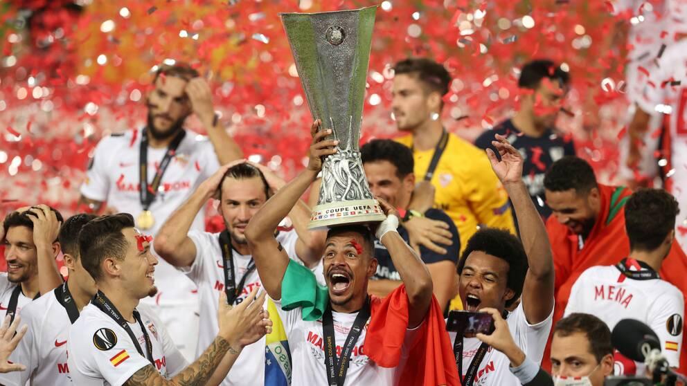 Sevilla vann Europa League 2020.
