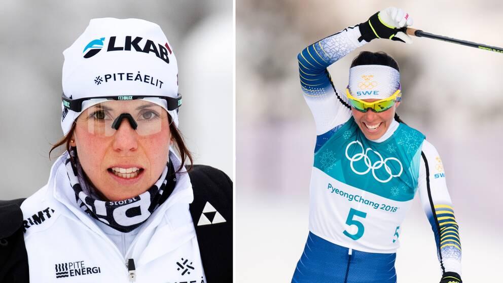 Charlotte Kalla tar ingen OS-plats för givet.