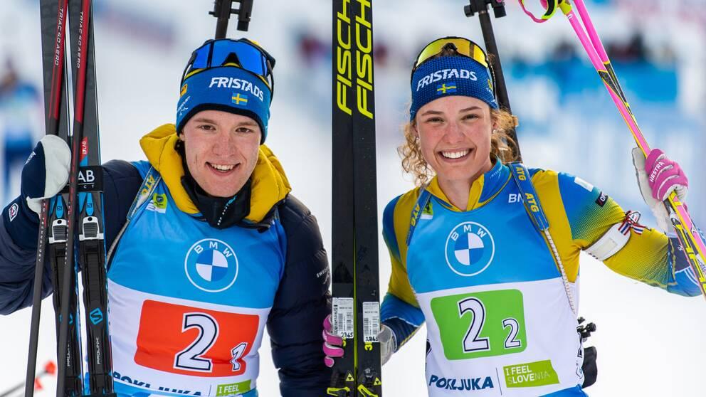 Hanna Öberg och Sebastian Samuelsson är några av åkarna som får åka OS 2022.