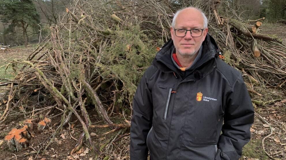 Jörgen Nilsson är naturvårdsförvaltare på länsstyrelsen i Skåne