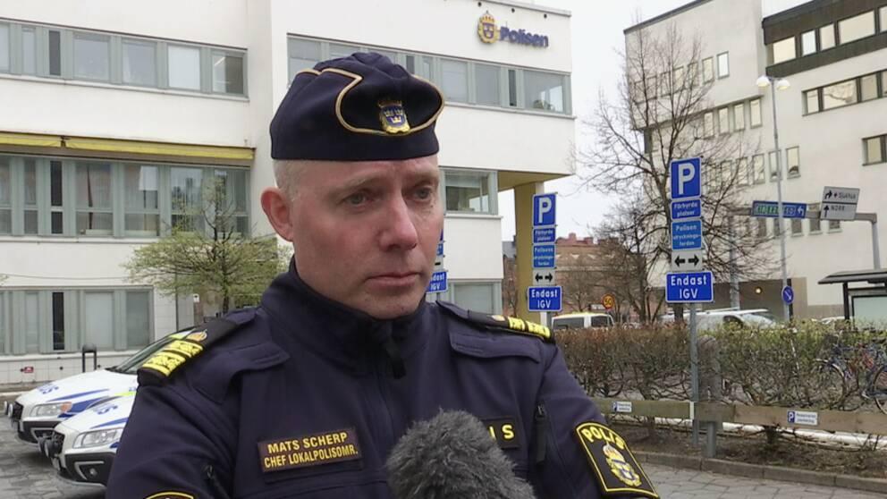 Mats Scherp chef för lokalpolisområde Örebro