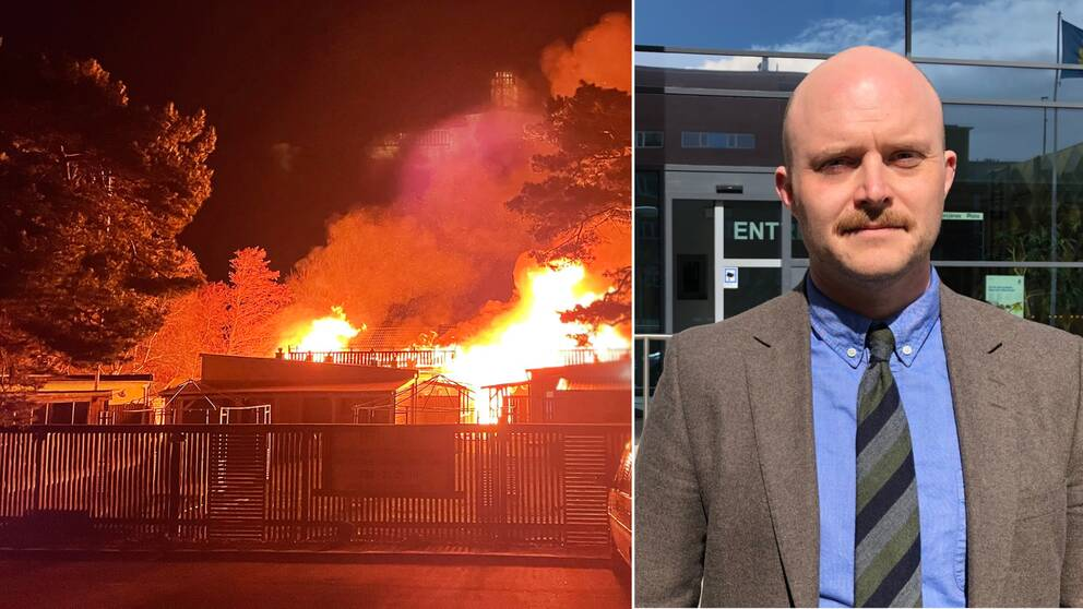 Henrik Kindlund är åklagare i fallet med mordbranden på Östra stranden.