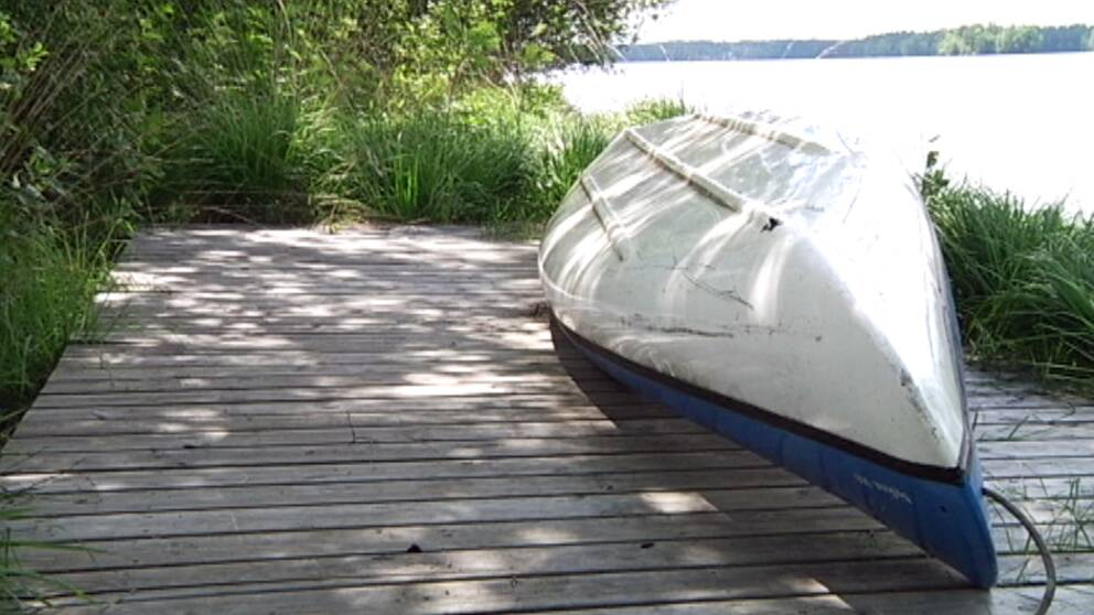 Stort sokpadrag sedan kanot hittats