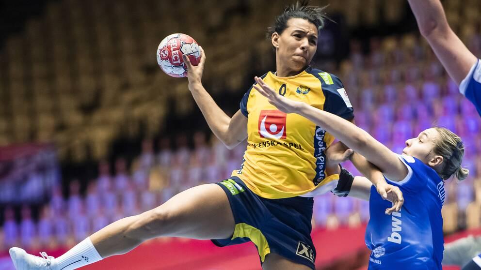 Sveriges Jamina Roberts.