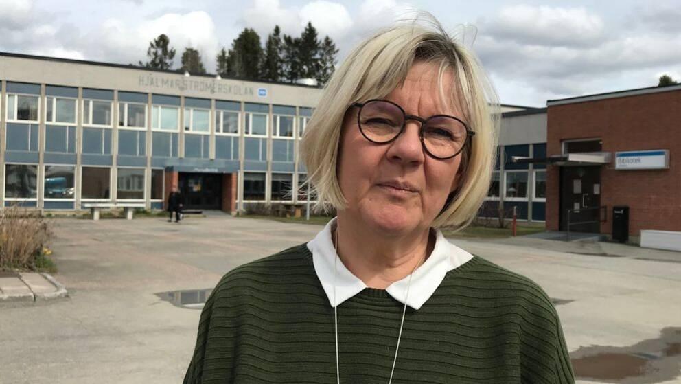Heidi Sundelin rektor Hjalmar Strömer