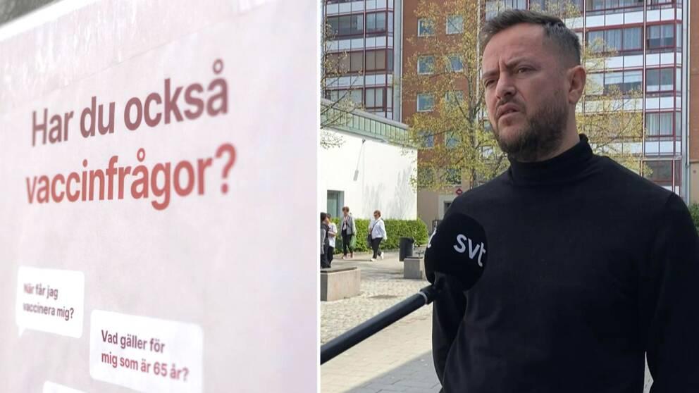 Shemsi Grajqevci, samhällsvägledare medborgarservice Andersberg.