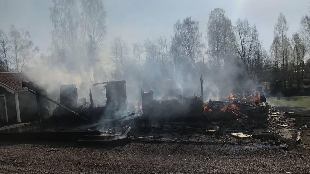 Villabrand i Bollstabruk