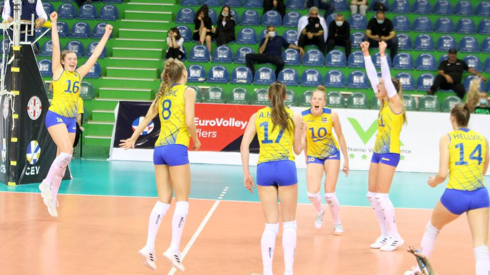 SVT sänder volleyboll-EM.