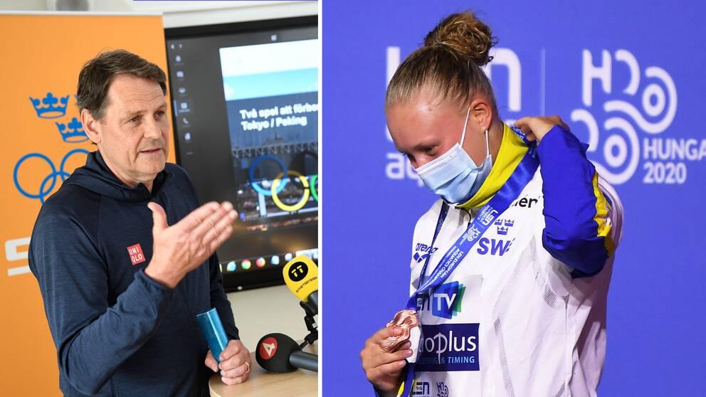 SOKs verksamhetschef Peter Reinebo och Emma Gullstrand.