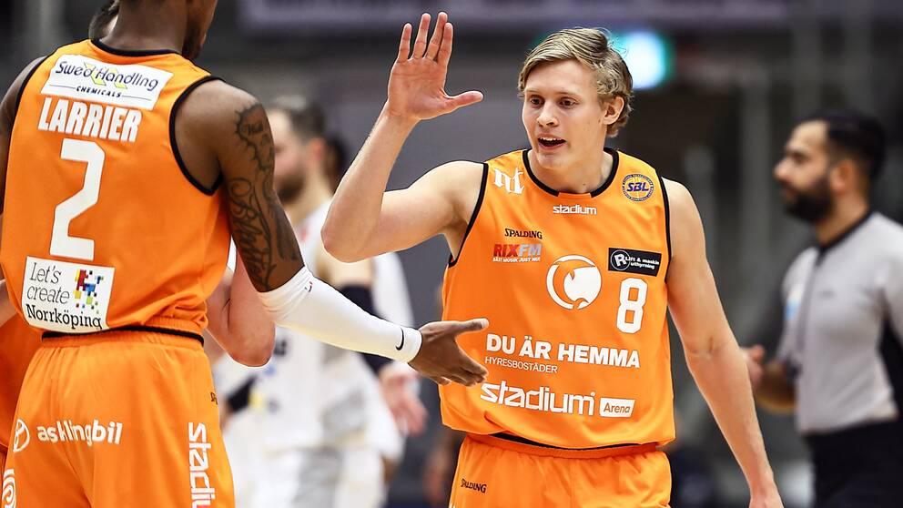 Felix Terins blev poängbäst i Norrköping med 21 poäng.