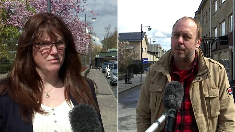 Hör Annika Karlsson och Andreas Slätt berätta om hur de vill påverka politiken i Arvika.