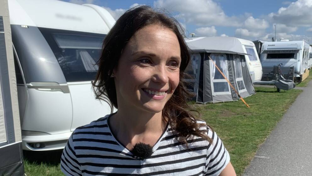 Marika Sundström blev ny delägare av Skrea Camping hösten 2019, bara några månader innan pandemin drog igång.