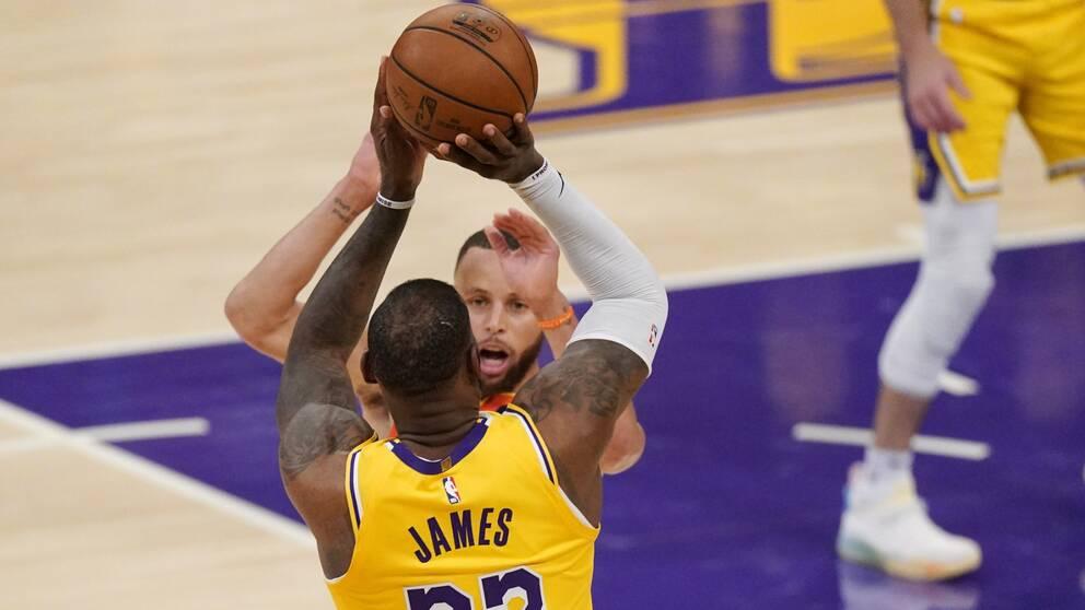 LeBron James avgjorde mötet med Golden State.
