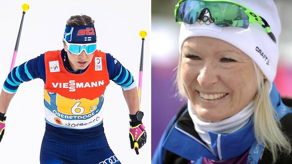 43-åriga Riitta-Liisa Roponen satsar mot OS.